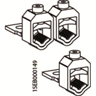 ABB VC-ZLBM/ZHBM123 V-klämma för XLBM 1,2,3, 95-240 kvmm