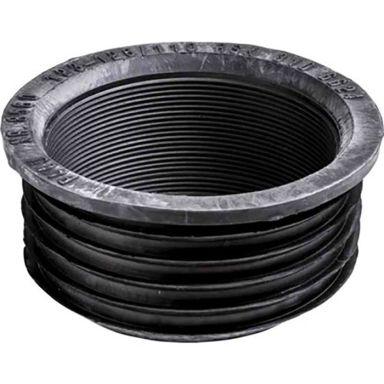 Faluplast 85602 Gumminippel 123/110, svart