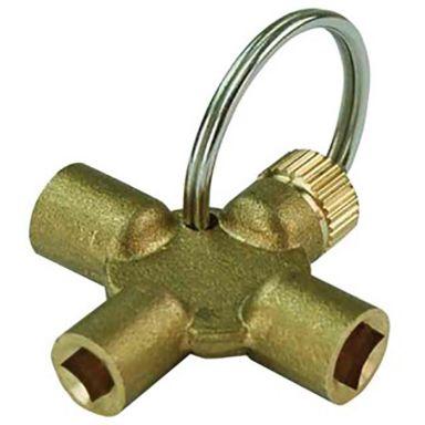 Ezze 4131 Nyckel till luftningsventiler, 4-axlad