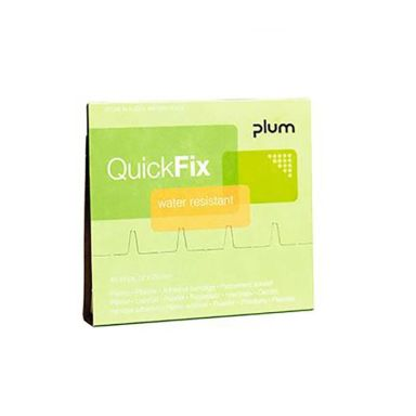 Plum QuickFix Water Resistant Laastari täyttö, 45 kpl