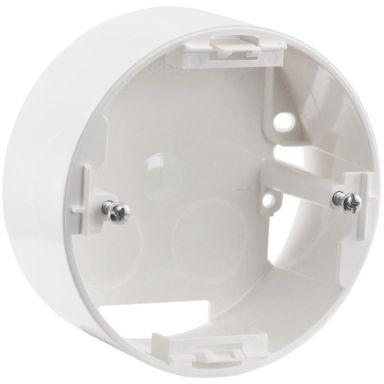 Schneider Renova Dosa för strömbrytare, 1-fack, vit, hög
