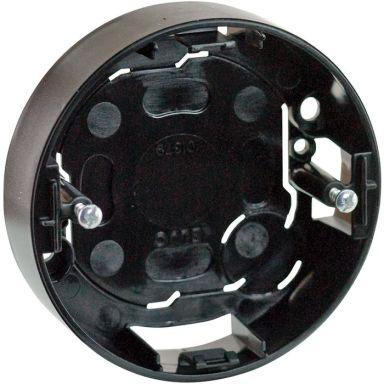 Schneider Renova Dosa för strömbrytare, 1-fack, svart