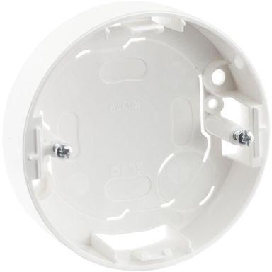 Schneider Renova Dosa för strömbrytare, 1-fack, vit