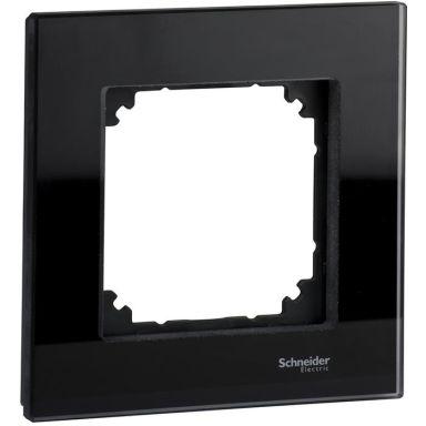 Schneider Exxact Solid Ram glas, svart