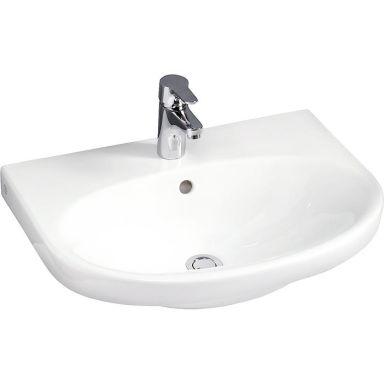 Gustavsberg Nautic 5560 Tvättställ utan bräddavlopp, för bult/konsolmontage