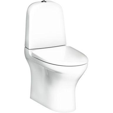 Gustavsberg Estetic 8300 Toalettstol med hård sits, vit