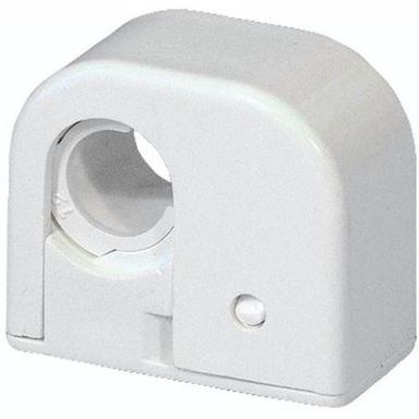 Purus Purusklämman Rörklämma enkel, 12-15 mm, vit