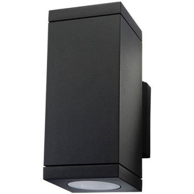 SG Armaturen Echo Väggarmatur svart, 2 x 4,5 W