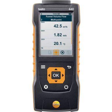 Testo 440 Multi-instrument för ventilation och inneklimat