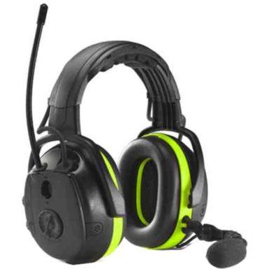 Hellberg Synergy Multipoint Hörselskydd Bluetooth, med hjässbygel