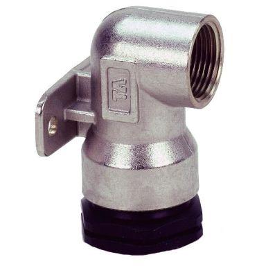 TA 3004054042 PEM-liitin metalli, seinäkiinnike, muovinen sisäkierre