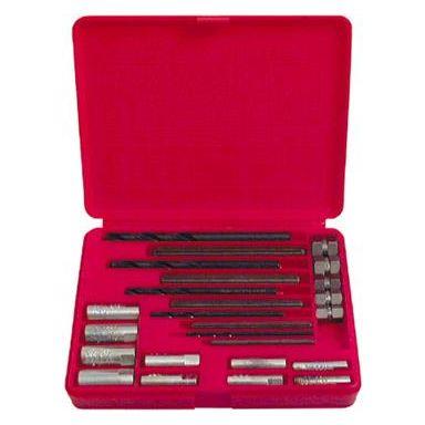 Ridgid 10 Skruvåtdragarsats 20 st. precisionsverktyg