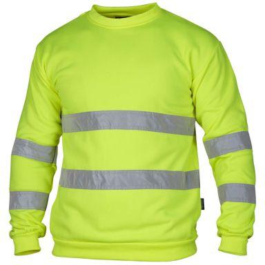 Top Swede 4228 Sweatshirt varsel, gul