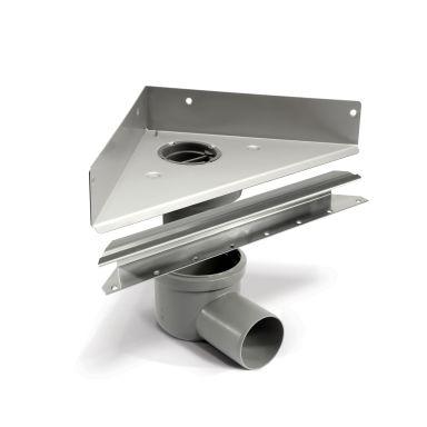 Unidrain Unidrain Golvränna hörnmodell, 200 mm
