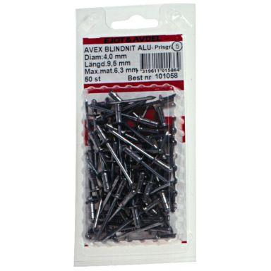 Ejot 101038 Blindnit AVEX, aluminium/stål