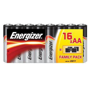 Energizer Alkaline Power Alkaliskt batteri 1,5 V, 16-pack