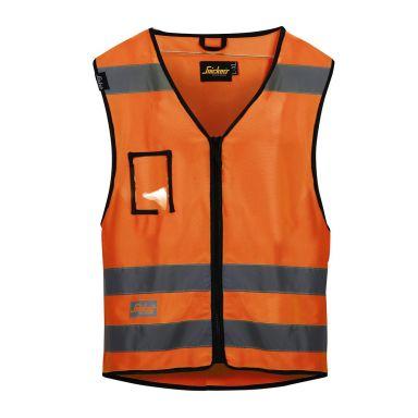 Snickers 9153 Vest varsel, oransje