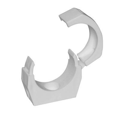 Faluplast 18210 Rörklammer enkel, med låsbart överfall, 50 mm