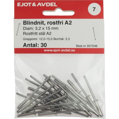 Ejot 957048 Blindnit SS, RFR F30, 30-pack