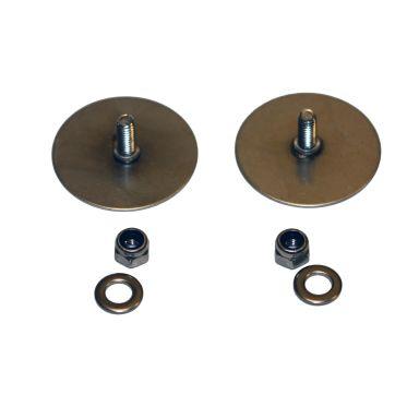 Design4Bath TB0138 Montagebricka rund, 2-pack