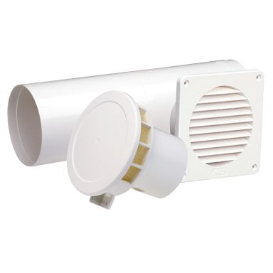 PAX 2602-6 Tilluftspaket termostatstyrd, rund