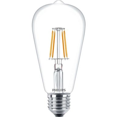 Philips Classic LED Filament LED-lampa 4 W, edisonform