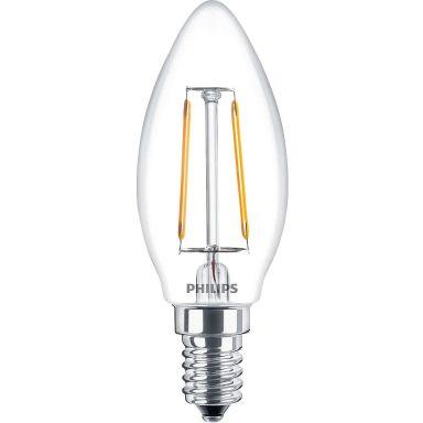 Philips Classic LED Filament LED-lampa 2 W, kronljusform