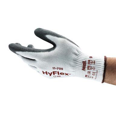 Ansell HyFlex 11-735 Handske Skärskydd, PU, Intercept/Nylon