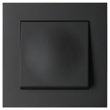 Elko Plus Trapp/1-P Snabb Strömställare svart, snabbanslutning