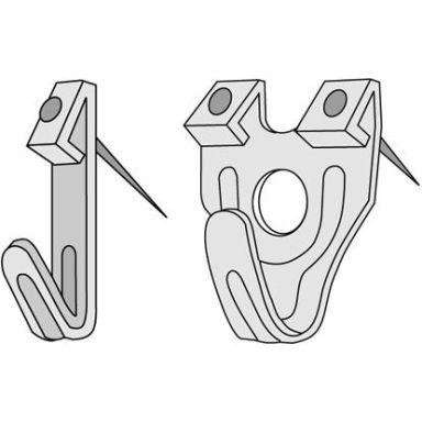 Thuresson Fastening 13132 X-Krok stål