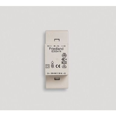 Honeywell Home E3554 Ringledningstransformator utan till/från-omkopplare