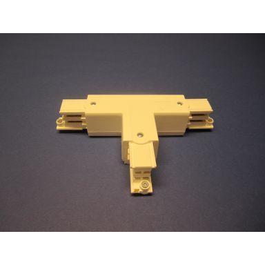 GLOBAL Trac XTS37-3 T-skarv till 3-fas kontaktskena, 5-pack