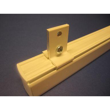 GLOBAL Trac SKB16-3 Wirefäste till 3-fas kontaktskena, vit
