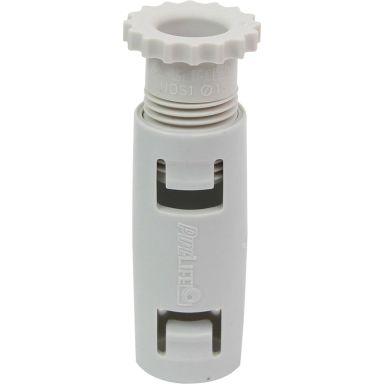 Pipelife 521717 Skarvmuff med skruvlås, halogenfri