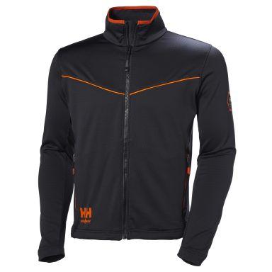H/H Workwear Chelsea Evolution Sweatshirt svart/orange