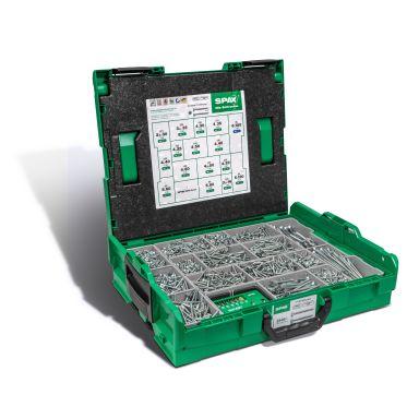 SPAX 5000009161019 Sortimentslåda TFT, BIG 16 DIM. 2400 ST