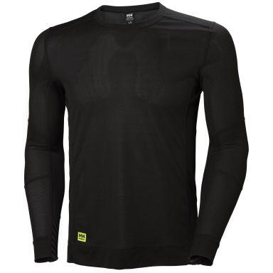 H/H Workwear Lifa Underställströja svart