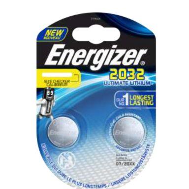 Energizer Ultimate Lithium 2032 Knappcellsbatteri 3 V
