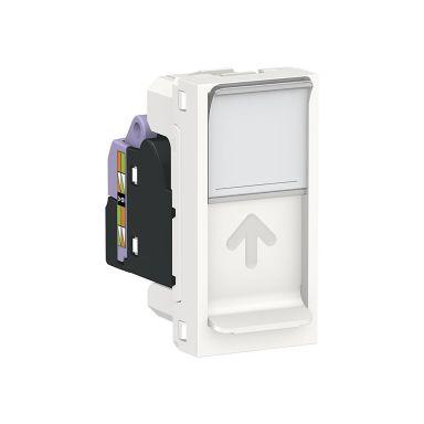 Schneider Unica system+ Modularuttag infällt montage