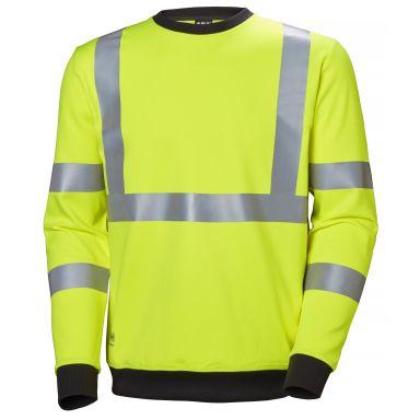 H/H Workwear Addvis Sweatshirt varsel, gul