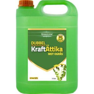 GreenLine Dubbel Kraft Ättika Ogräsbekämpning 12%, 5 liter