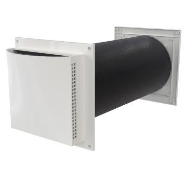 Flexit 09183 Friskluftsventil 100-175 mm, ljuddämpad