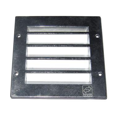 Flexit 100334 Ventilgaller 150 mm, aluminium