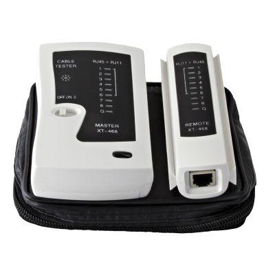 Macab Goobay Nätverkstestare för CAT5/6 RJ11, RJ12, RJ45, ISDN