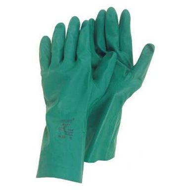 Ansell 79-340 Handske Kemskydd, Nitril, grön