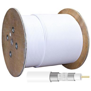 Televes RG-11T Koaxialkabel 1,6/7,1 mm, trippelskärmad, 1 m