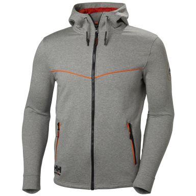 H/H Workwear Chelsea Evolution Luvtröja grå/orange
