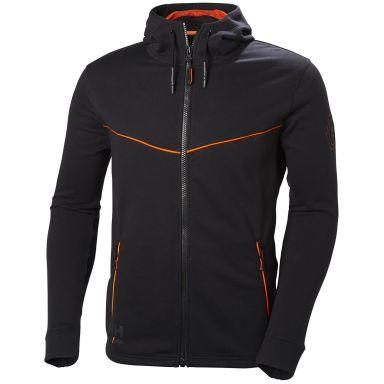 H/H Workwear Chelsea Evolution Luvtröja svart/orange