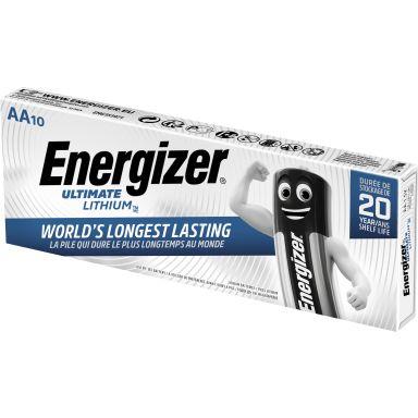 Energizer Ultimate Lithium Litiumbatteri 1,5 V, 10-pack