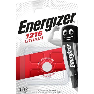 Energizer 1216 Knappcellsbatteri litium, 3 V